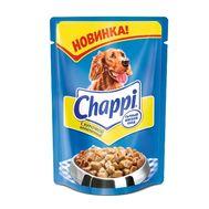 Чаппи для собак сытный мясной обед