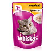 Вискас Крем-суп с индейкой