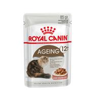 Роял Канин для кошек старше 12 лет измельченные кусочки в соусе