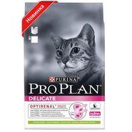 Про План для кошек с чувствительным пищеварением с ягненком, 1,5кг