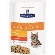 Хиллс влажный корм для кошек для поддержания здоровья мочевыводящих путей с курицей, 85г