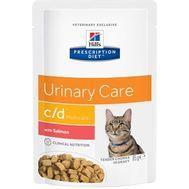 Хиллс влажный корм для кошек для поддержания здоровья мочевыводящих путей с лососем, 85г