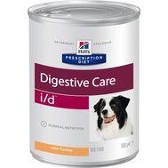 Хиллс диета для собак при расстройствах пищеварения, жкт, с индейкой, 360г