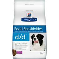 Хиллс сухой корм для собак с уткой и рисом, 2кг
