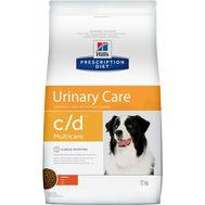 Хиллс для собак при лечении и профилактике мочекаменной болезни (мкб), с курицей, 12кг