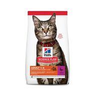 Хиллс для взрослых кошек с уткой, 10кг