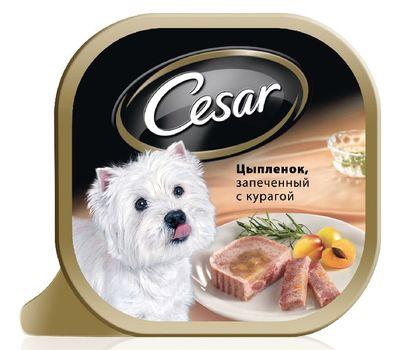 Цезарь Цыпленок запеченный с курагой