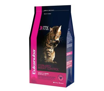Эукануба для взрослых кошек с избыточным весом и стерилизованных c 1 года