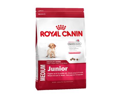 Роял Канин для щенков средних пород 2-12 мес., 15 кг