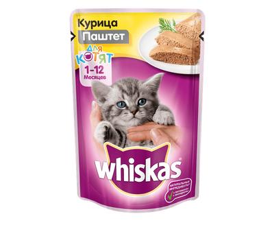 Вискас Паштет с курицей для котят