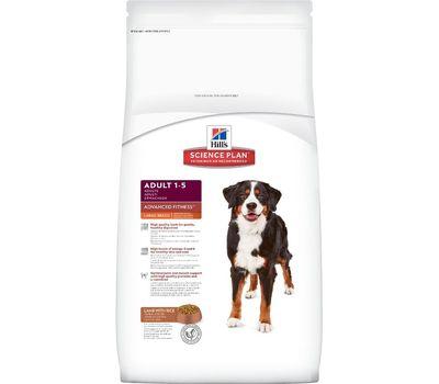 Хиллс сухой корм для собак крупных пород ягненок с рисом, 12кг